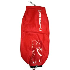 Eureka E-53506-1 Cloth Bag, Commercial  Zipper W/Latch Cplg Red