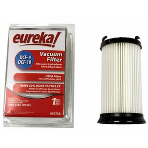 Eureka E-62132 Filter, Dust Cup 4700    5500 Dcf4/18 Yellow A&H