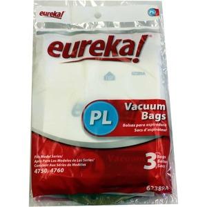 Eureka E-62389 Paper Bag, Style Pl      Upright 4750 3Pk