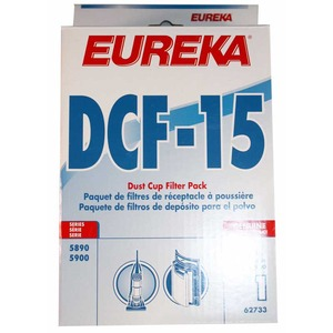 Eureka E-62733 Filter, Dust Cup Foam & Filter Dcf8/15 5890/5900