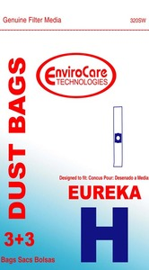 Eureka Replacement Er-14085 Paper Bag, Eur Style H   Prince/Princess Env 3Pk