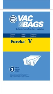 Eureka Replacement Er-1422 Paper Bag, Eur Style V   Canister Express Dvc 3Pk