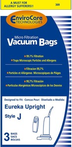 Eureka Replacement Er-1440 Paper Bag, Style J Micro-Filtration Env 3Pk