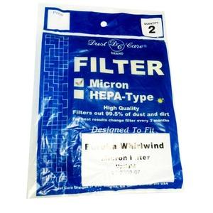 Eureka Replacement Er-1806 Filter, Whirlwind Caset. 2Pk