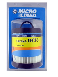 DVC Micro Lined DCF3 Eureka ER-1880 Dirt Cup Pleated Filter for Lightspeed 5700/5800