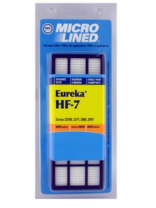 Eureka Replacement Er-1887 Filter, Hf7 Hepa Plus    2270 2900 Ser Upright Dvc