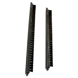 "Eureka Replacement Er-2205 Brush Strip, 16"" Vgi Pair Black"