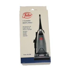 Fuller Brush Fb-1800 Filter, Hepa Exhaust    Fbtm-Pw  W/Plastc Hndles