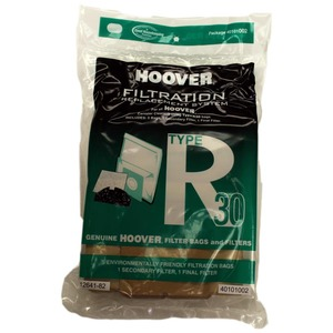 Hoover H-40101002 Paper Bag, R-30 5 Pk W/1 Secondary 1 Final Filter