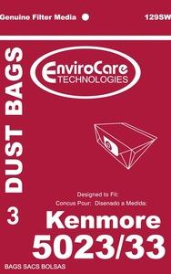 Kenmore Replacement Ker-1405 Paper Bag, Style E 5023/ 5033 Env 3Pk