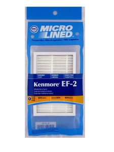 Kenmore Replacement Ker-1805 Filter, Type 86880 Ef-2  Progressive Can Hepa Dvc