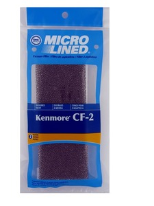 Kenmore Replacement Ker-1820 Filter, Cf2 Progressive  86884 Upright Micro Dvc