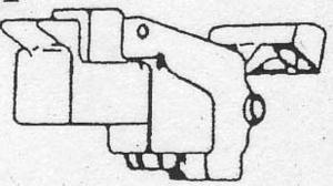Kirby K-110584 Footswitch, 1Hd-Legend Ii Black