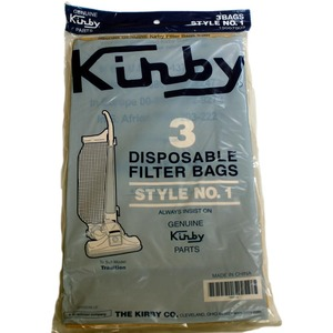 Kirby K-19067903 Paper Bag, Style 1      Tradition 3Cb  3Pk