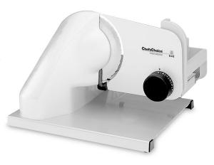 """Chefs Choice, Edgecraft 640, Professional, Food Slicer, 7"""" Blade, Cut Deli Thin to 1/2"""", 124W, Gear Drive, Serving Tray, Childproof Lockout Safety Switch"""