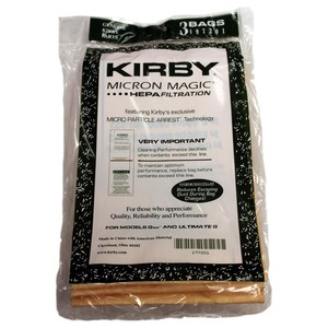 Kirby, K-197201, Paper, Bag, Style, G6, Ultimate, 3, Pack, Vacuum, Cleaner