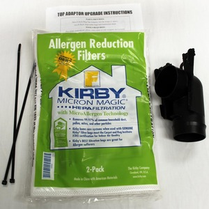 "Kirby K-229108 Kit, Bag Adapter ""F"" Bag Includes Adapter/Ties/Bag"