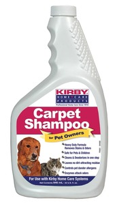 Kirby K-235406 Shampoo, Foam Pet Owners 32Oz Bottles