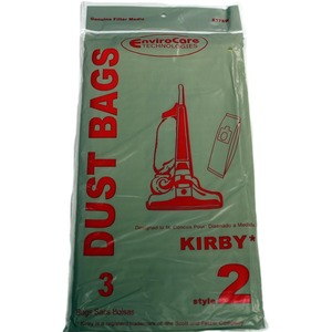 Kirby Replacement Kr-14205 Paper Bag,       Style 2 Heritage I 1Hd Env 3Pk