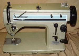 Consew 2033R Industrial Sewing Machine with 1/2 HP Power Stand