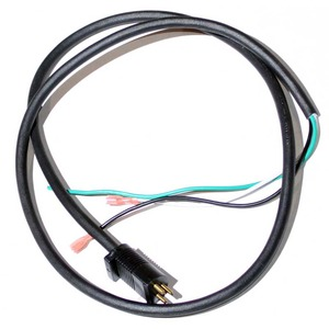 Oreck O-010-2669 Cord, Base To Handle 3   Wire 9300C,H,Mm Blk/Green