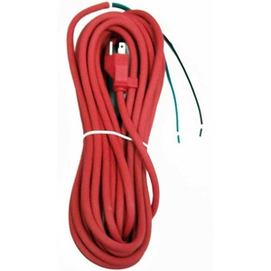 Oreck O-7508003 Cord, 35' 3 Wire W/O     Receptacle Red