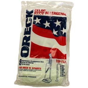 Oreck O-80009Dw Paper Bag, Old Style W/O Bag Docking 9 Pk