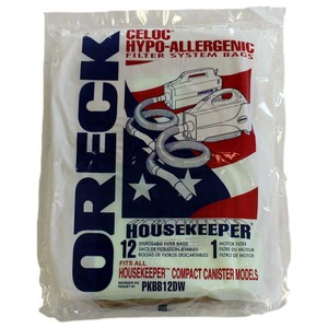 Oreck O-Bb12 Paper Bag, Buster B/Housekeeper Canisters 12Pk