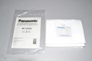 Panasonic MC-V295H 2Pk Paper Bags, C19 Hepa Cg983 Cg985 Vacuum Cleaners