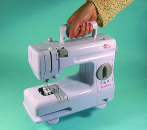 Sew Pro SP 402: Quick Stitch Sewing and Mending Machine like Singer Tiny Tailor with Adaptor, Foot Control & Drawer