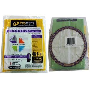 Pro-Team Pv-100431 Paper Bag, Proclean 2000/Provac/ Qtrvac 6 Qt 10Pk