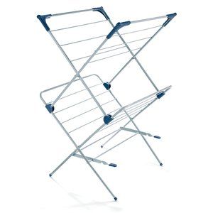 Polder DRY-4063 2-Tier Clothes Drying Rack with Mesh Top Garment Dryer