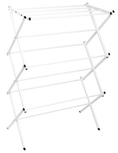 Polder Standing Accordion Drying Rack, White