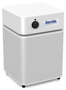 Austin Air HM200 Health Mate Jr. Junior HEPA Standards Air Purifier Cleaner, 360° Intake, 700 Sq Ft, 3 Speed, 1-2 Rooms, 18Lbs - Consumer Guide Budget Buy