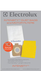 Electrolux EL206A-4 24 Paper Bags, 4 Motor Filters, EL5020A Intensity Upright Vacuum Cleaner Synthetic Dustbags