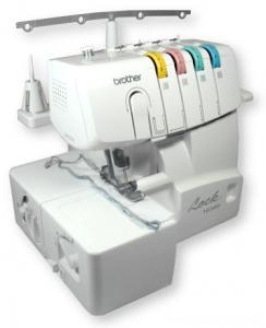 Brother Lock 1034D 3&4 Thread FREEARM Overlock Serger TAIWAN, Rolled Hem, Differemtial Feed, Color Coded Lay In Threading, Blindhem Foot, 2CD Videos*