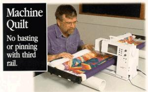 "John Flynn's Portable Quilting, Quilter & Quilt Machine Multi-Frame Kit with 42"" Rails & Video"