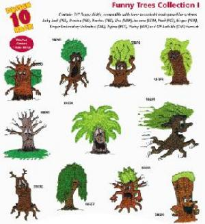 Amazing Designs / Great Notions 2053 Funny Trees I Multi-Formatted CD