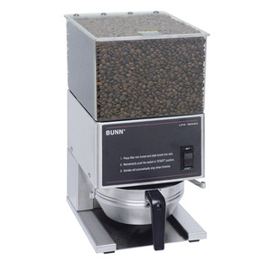 New! Bunn LPG Low Profile Portion Control Grinder with 1 Hopper