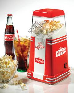 Nostalgia Electrics RHP310COKE Coca Cola Mini Hot Air Popcorn Machine