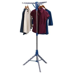 House, hold, Essential, 5009, Collapsible, Indoor, Clothes, Rack, Dryer, 26, 64.5, Tripod, Leg, Unfold, Sturdy, Free, standing, Base, 3, Drying, Arms, 36, garment