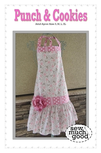 Sew Much Good SMGPC SMG558 Punch & Cookies Apron Pattern