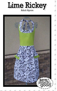 Sew Much Good SMG557 Lime Rickey Adult Apron Pattern Fits All Sizes