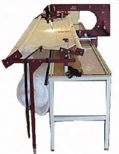 KenQuilt Royal Long Arm Quilting, Quilter & Quilt Machine with Frame and Table