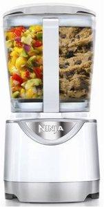 Euro-pro Ninja BL204 Kitchen System Pulse Blender 40oz, Pitcher 4Blades 3Lids, Single Serve 3Cups, Cookie Paddle, DoughBlade, BPAFree, Dishwasher Safe