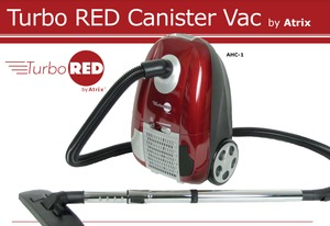 Atrix AHC-1 Bagged HEPA Canister Vacuum Cleaner