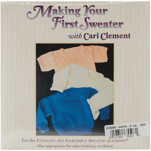 Bond America Making Your First Sweater 1 Hour DVD Video Instructions -DVD MAKE 1ST SWEATER
