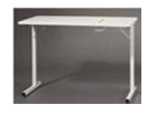 "Fashion 299 WHITE Folding-Legs Sewing Machine Table 40 x 20 x 30""H Requires Optional Insert to Flush Mount Your Sewing Machine - Specify Brand & Model, Roberts"
