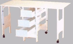 Roberts 97 or 98 White Fabric Cutting and Craft Table -  Specify Size 60 x 32