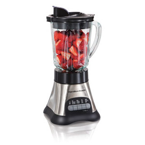 Hamilton Beach 58143 Metal Body 12                               Function Glass Jar Blender 700 Watts